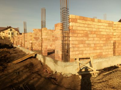 ridicare zidarie Indigo Residence Iasi